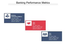 Banking Performance Metrics Ppt Powerpoint Presentation Inspiration Templates Cpb