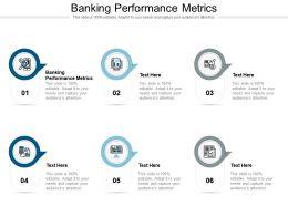 Banking Performance Metrics Ppt Powerpoint Presentation Show Cpb