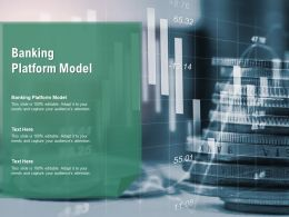 Banking Platform Model Ppt Powerpoint Presentation Layouts Deck Cpb