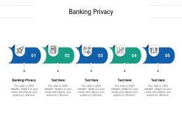 Banking Privacy Ppt Powerpoint Presentation Infographics Slide Download Cpb