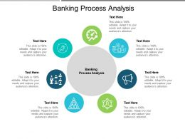 Banking Process Analysis Ppt Powerpoint Presentation Show Example Cpb
