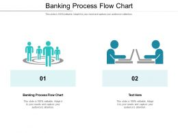 Banking Process Flow Chart Ppt Powerpoint Presentation Layouts Styles Cpb