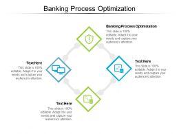 Banking Process Optimization Ppt Powerpoint Presentation Inspiration File Formats Cpb