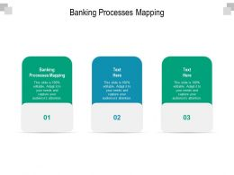 Banking Processes Mapping Ppt Powerpoint Presentation Inspiration Deck Cpb