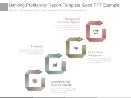 Banking Profitability Report Template Good Ppt Example