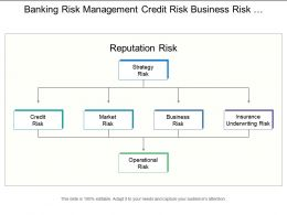 Banking Risk Management Credit Risk Business Risk Market Risk