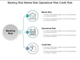 Banking Risk Market Risk Operational Risk Credit Risk