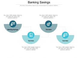 Banking Savings Ppt Powerpoint Presentation Gallery Design Ideas Cpb