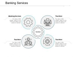 Banking Services Ppt Powerpoint Presentation File Smartart Cpb