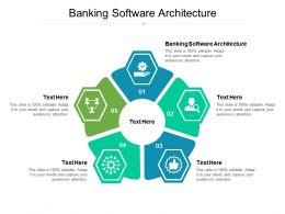 Banking Software Architecture Ppt Powerpoint Presentation Portfolio Graphics Tutorials Cpb