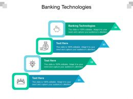 Banking Technologies Ppt Powerpoint Presentation Slides Skills Cpb