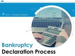 Bankruptcy Declaration Process Powerpoint Presentation Slides