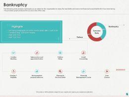 Bankruptcy Ppt Powerpoint Presentation Ideas Templates