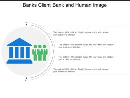 Banks Client Bank And Human Image