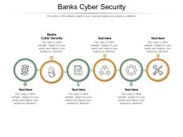 Banks Cyber Security Ppt Powerpoint Presentation Outline Infographics Cpb