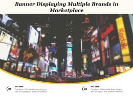 Banner Displaying Multiple Brands In Marketplace