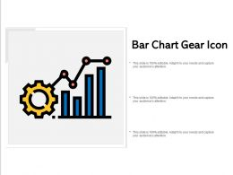 Bar Chart Gear Icon
