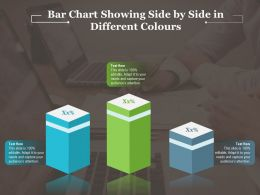 Bar Chart Showing Side By Side In Different Colours