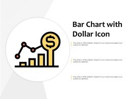Bar Chart With Dollar Icon