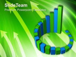 Bar Charts And Graphs Bars Finance Powerpoint Templates Themes