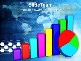 Bar Charts And Graphs Pie Business Powerpoint Templates Themes