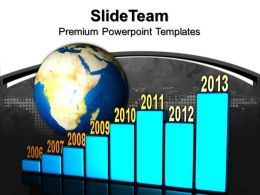 Bar Charts Graphs Business Global Powerpoint Templates And Themes
