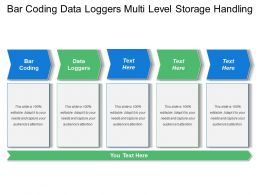 Bar Coding Data Loggers Multi Level Storage Handling