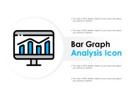 Bar Graph Analysis Icon