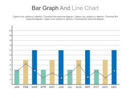 Bar Graph And Line Chart For Financial Planning Powerpoint Slides