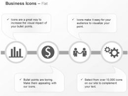 Bar Graph Business Deal Financial Growth Process Control Ppt Icons Graphics