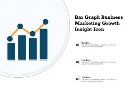 Bar Graph Business Marketing Growth Insight Icon