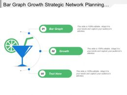 Bar Graph Growth Strategic Network Planning Communication Strategy