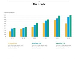 Bar Graph Investment Ppt Infographic Template Background Images