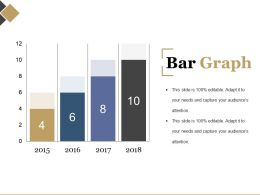 Bar Graph Powerpoint Slide Background Designs