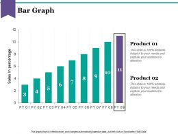 Bar Graph Ppt Background Images