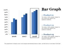Bar Graph Ppt Icon Example Topics