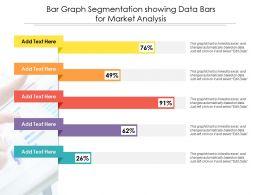 Bar Graph Segmentation Showing Data Bars For Market Analysis