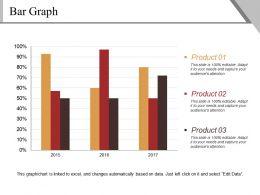Bar Graph Template 3 Powerpoint Slide Deck Samples