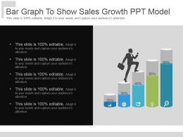 Bar Graph To Show Sales Growth Ppt Model