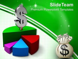Bar Graphs And Histograms Dollar Powerpoint Templates Themes