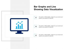 Bar Graphs And Line Showing Data Visualization