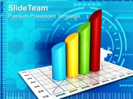 Bar Graphs And Pie Charts Sale Business Powerpoint Templates Themes