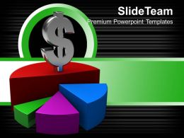 Bar Graphs Chart Dollar Business Powerpoint Templates And Themes