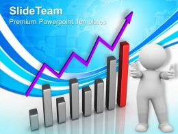 Bar Graphs Pictures Growth Progress Powerpoint Templates And Themes