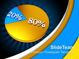 Bar Graphs Pie Chart Percent Business Powerpoint Templates And Themes