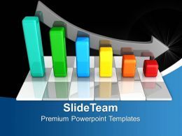 Bar Graphs Powerpoint Chart Structure Templates And Themes