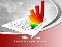 Bar Graphs Powerpoint Growth Model Templates And Themes