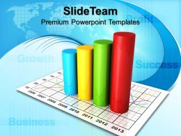 Bar Graphs Powerpoint Success Templates And Themes