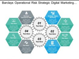 Barclays Operational Risk Strategic Digital Marketing Marketing Strategies Cpb