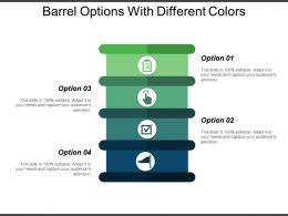 Barrel Options With Different Colors